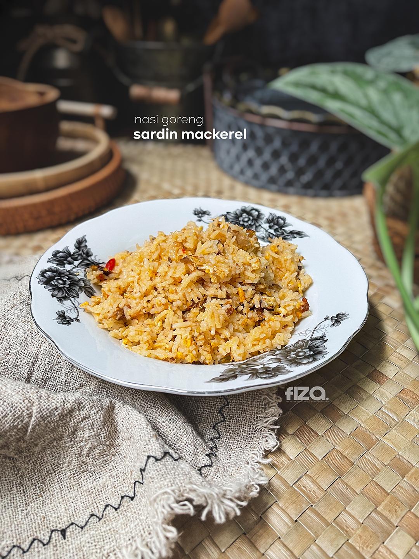 Nasi Goreng Sardin Mackerel