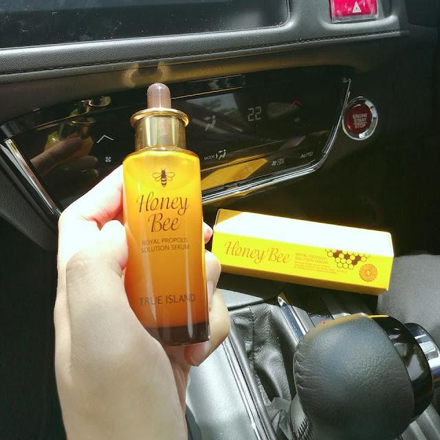 cara guna honey bee royal propolis serum