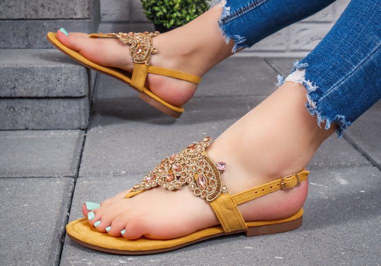 Sandale ieftine de vara cu talpa joasa lejere ieftine 2020