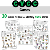 CVCC Short Vowel Games Consonant Vowel Consonant Consonant