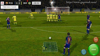 Download FTS Mod FIFA17 Ultimate v2 by Zulfie Zm Apk + Data