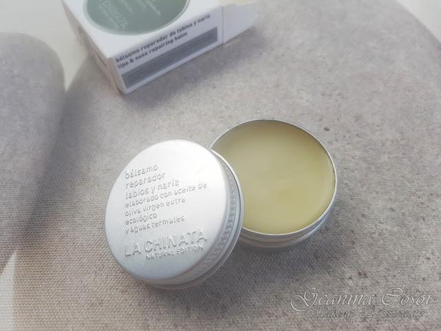 Bálsamo reparador labios y nariz Productos La Chinata - Sorteo ganado en el blog Piolineando