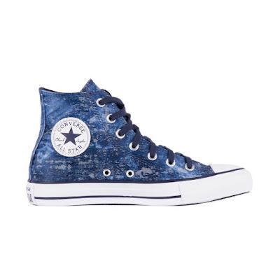 Tênis Converse All Star Chuck Taylor Azul Nautico/Branco/Azul Nauti