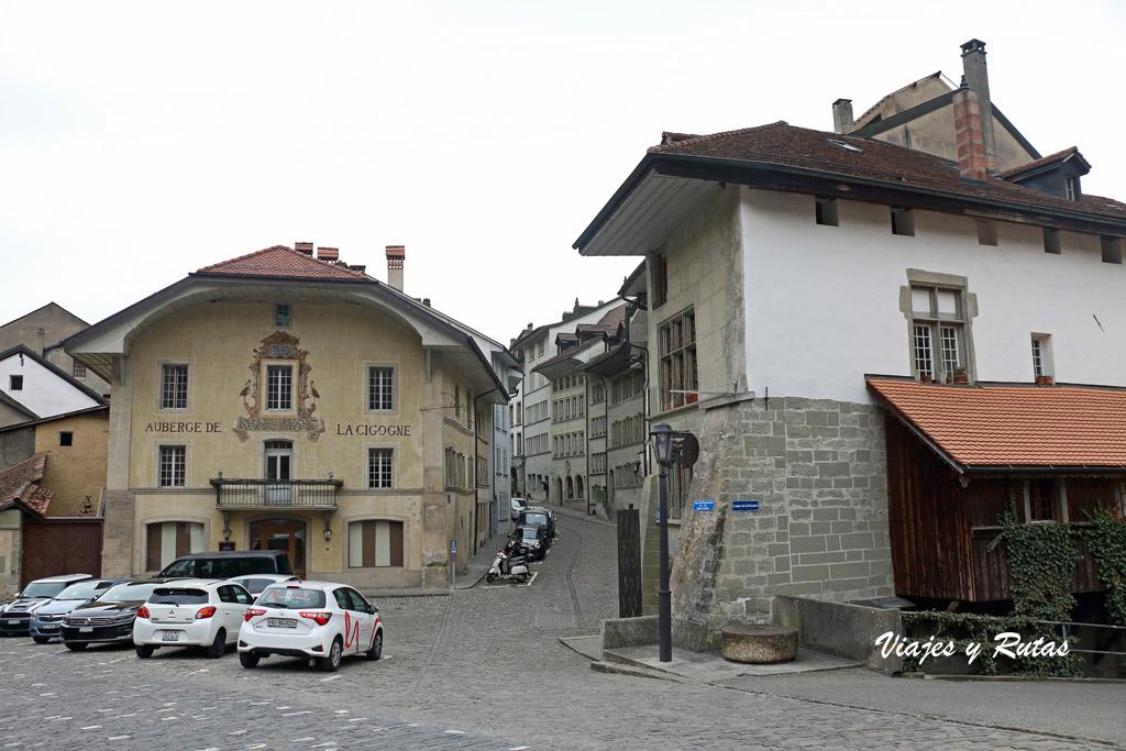 Place du Petit-Saint-Jean, Friburgo