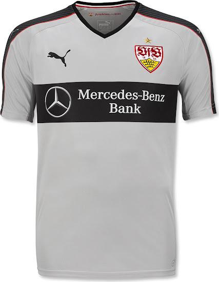 new arrival 617a9 a3eae VfB Stuttgart 16-17 Trikots veröffentlicht - Nur Fussball