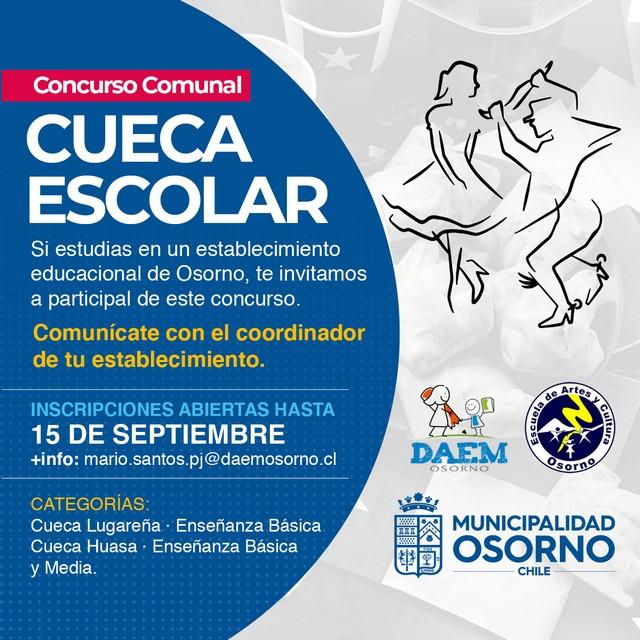 Concurso Comunal Escolar de Cueca 2021