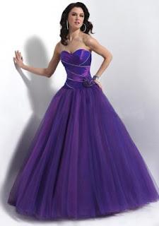 vestido roxo para noivas - dicas e fotos