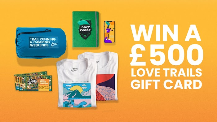 £500 Love Trails Gift Card Giveaway ( Worth Over : £500)