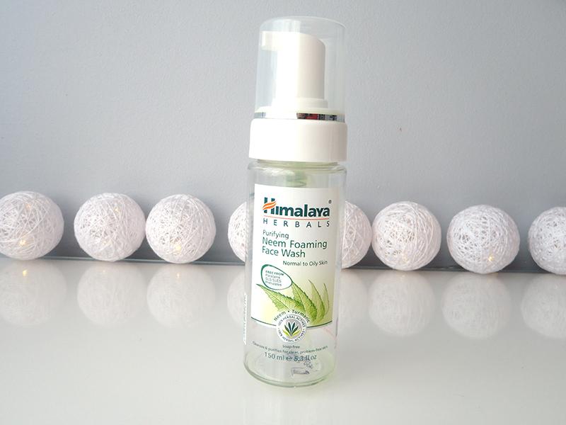 Himalaya Herbals Neem, miodla indyjska, pianka do mycia twarzy