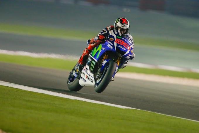 Hasil Tes Resmi MotoGP Hari Pertama - Lorenzo Dominan!
