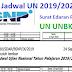 BSNP Terbitkan Jadwal UN UNBK UNKP SMP SMA MA SMK Tahun Pelajaran 2019/2020
