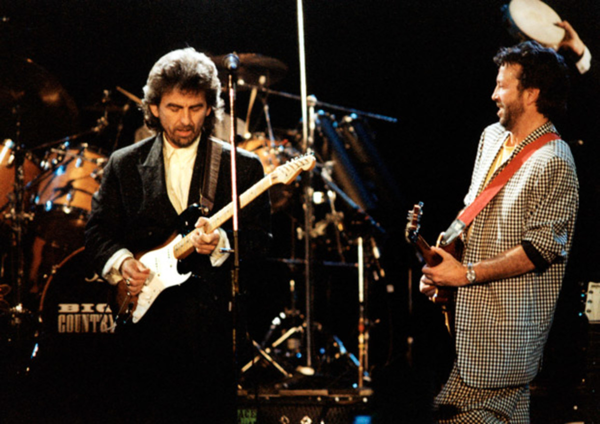 Back In Time: George Harrison, Clapton, Ringo and more playing together