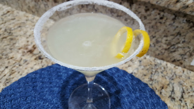 A Refreshing Lemon Drop Martini