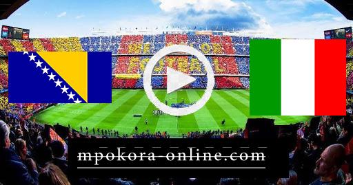 مشاهدة مباراة ايطاليا والبوسنة والهرسك بث مباشر كورة اون لاين 04-09-2020 دوري الأمم الأوروبية