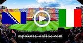 نتيجة مباراة ايطاليا والبوسنة والهرسك بث مباشر كورة اون لاين 04-09-2020 دوري الأمم الأوروبية