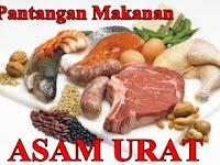 Makanan Yang Dilarang Bagi Pengidap Asam Urat