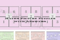 Maths Picture Puzzles with Answers