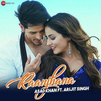 Raanjhana Lyrics in Hindi   Arijit Singh   Priyank Sharmaaa & Hina Khan   Zee Music Originals  