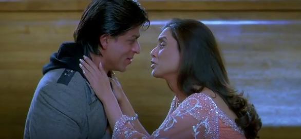 shah rukh khan best romantic scene in kabhi alvida na kehna