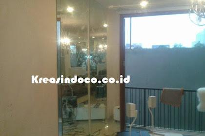 Pemasangan Kaca Cermin Di Rumah Bu Kimi Jln Bangka Raya Jakarta