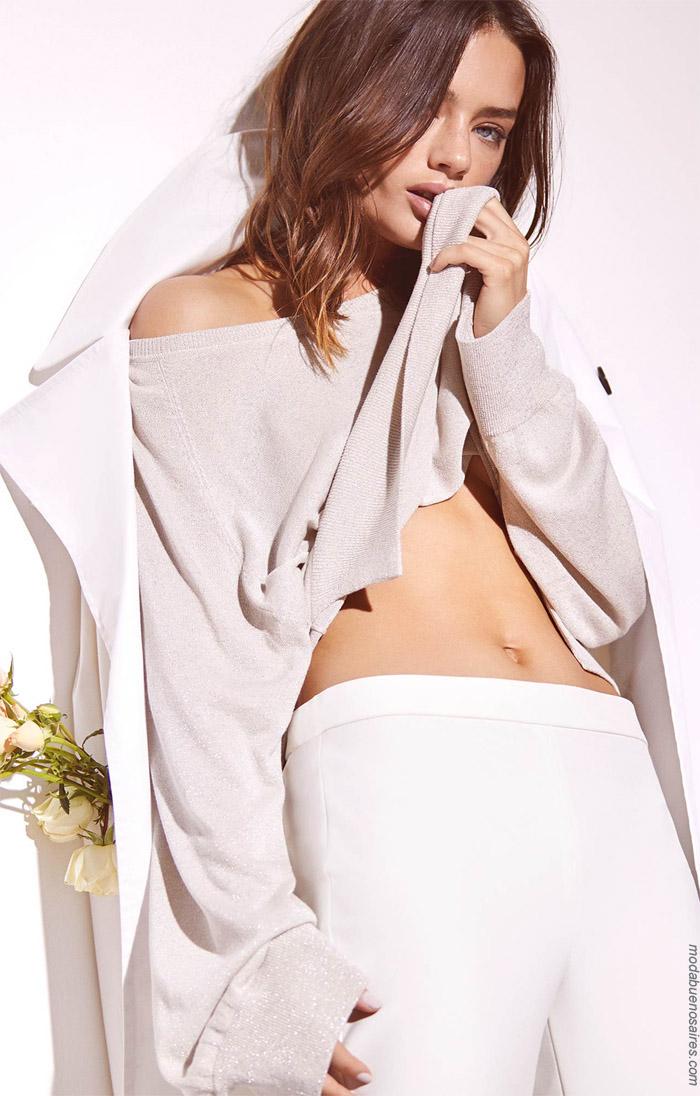 Pantalones de moda mujer primavera verano 2020.