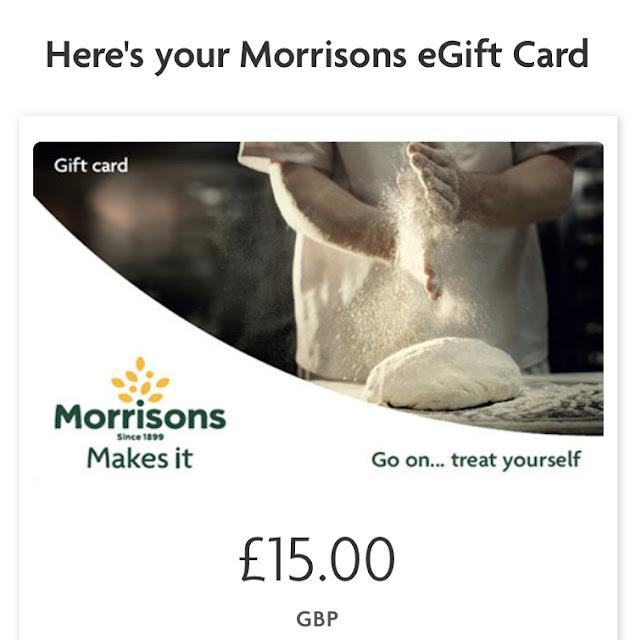 Morrisons e-gift card