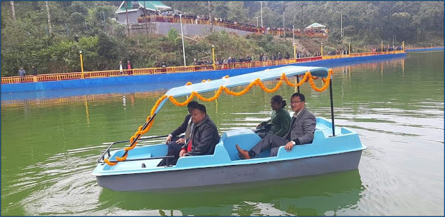 Kalimpong gets new picturesque tourist spot boating complex near Lava loleygaon