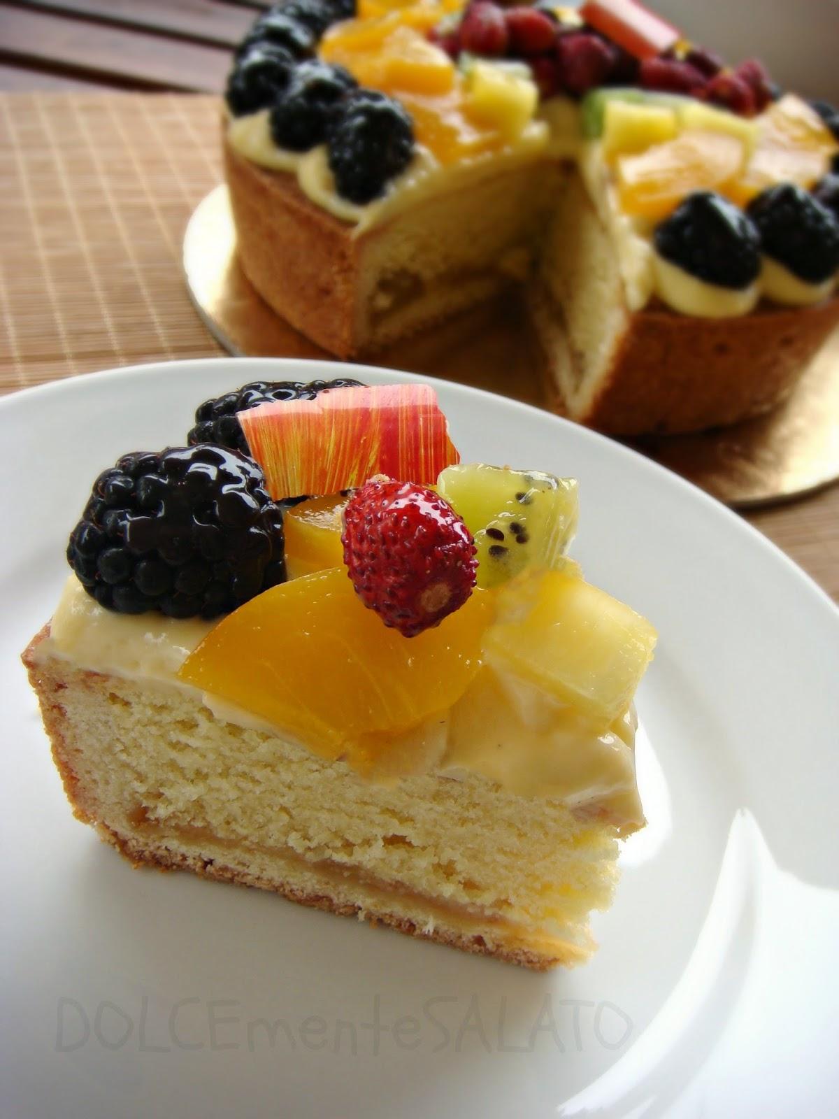 Préférence DOLCEmente SALATO: Crostata frangipane alle mele e frutta fresca HN53