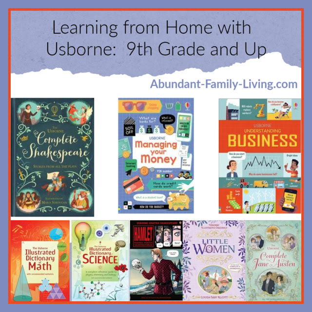 Learning from Home with Usborne - 9th Grade and Up