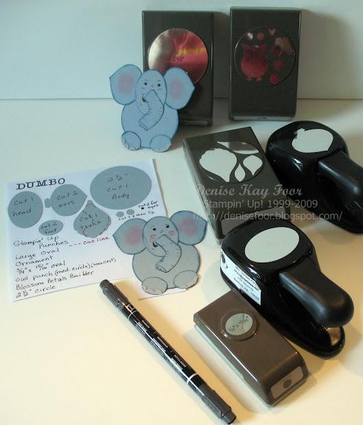 Denise Foor Studio Pa Dumbo Punch Art