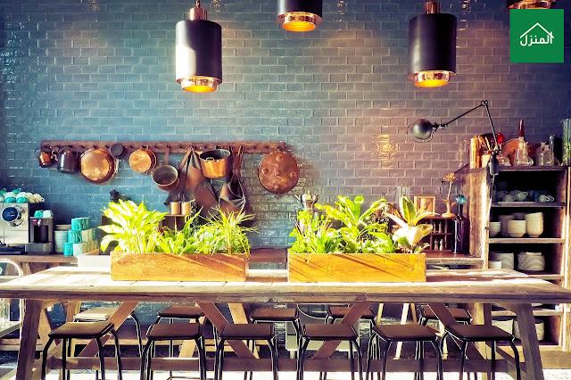 صور ديكور مطبخ مثل مطابخ المطاعم