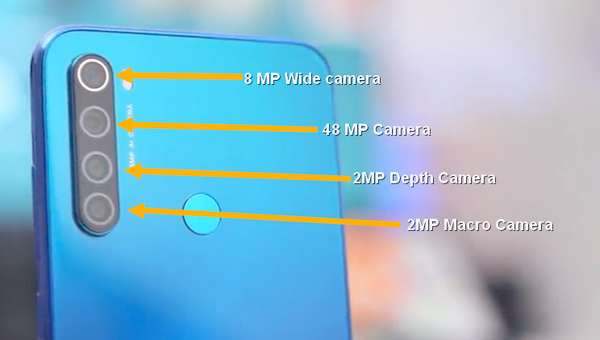fungsi 4 kamera redmi note 8 / pro