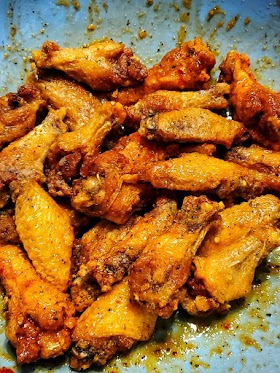 Hot Honey Peach Wings