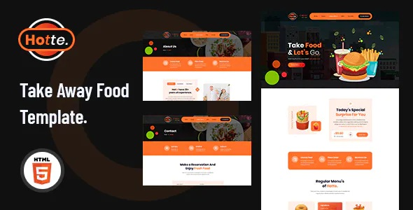 Best Take Away Food HTML5 Template