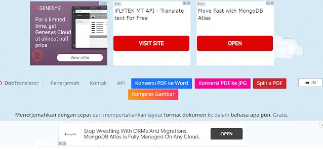 Ubah bahasa file ke indonesia