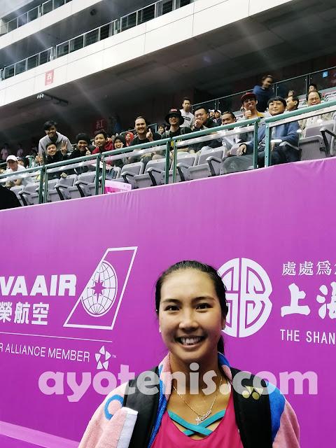 Jinakkan Natela Dzalamidze dan Lolos ke Babak Utama WTA Taipei OEC Open, Aldila Sutjiadi Ungkap Strategi Khususnya