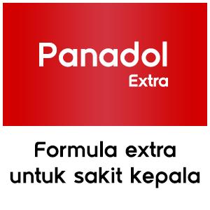 Panadol Extra (Merah), Formula Extra Untuk Sakit Kepala