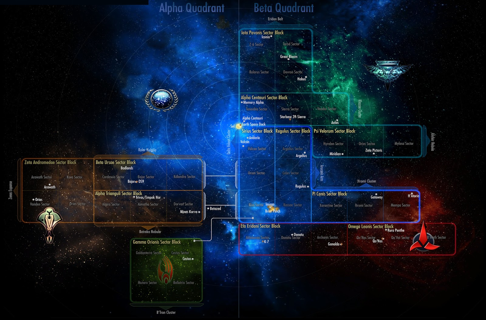 Map of the Galaxy Planets (page 2) - Pics about space