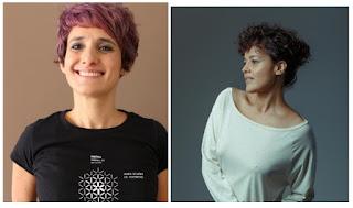 A diretora Marilia Nogueira (à esquerda) e a atriz Maeve Jinkings - Divulgação