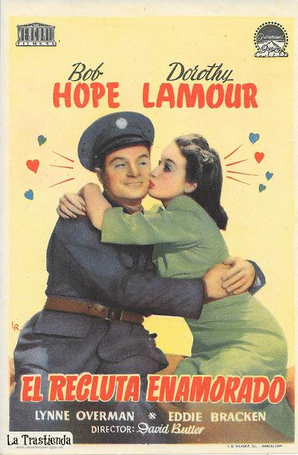 El Recluta Enamorado - Programa de Cine - Bob Hope - Dorothy Lamour