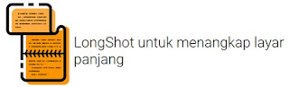 cara screenshot panjang