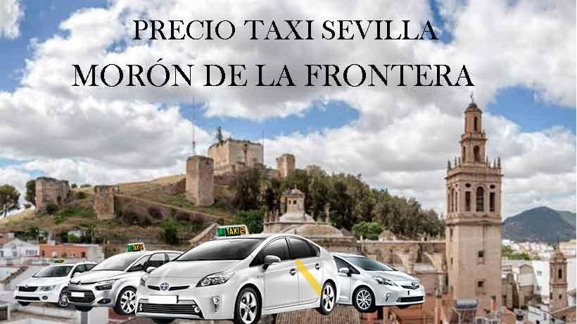 Precio taxi a Morón de la Frontera