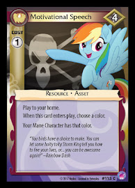 My Little Pony Motivational Speech Seaquestria and Beyond CCG Card