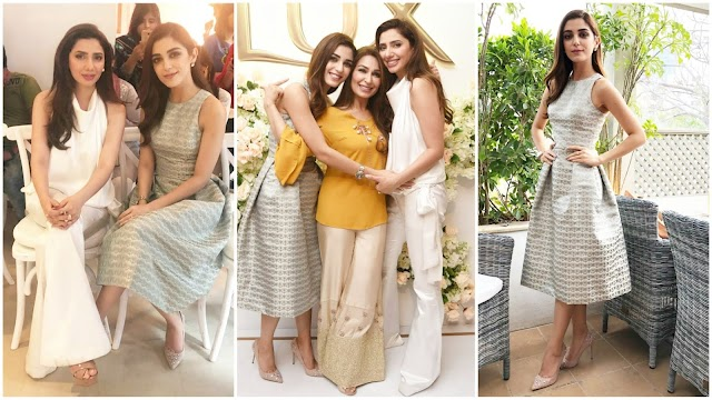 Mahira Khan and Maya Ali Lux Girls Beautiful Picture with Reema Khan - Reviewit Pak