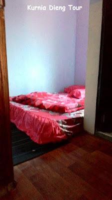 foto kamar homestay murah dieng