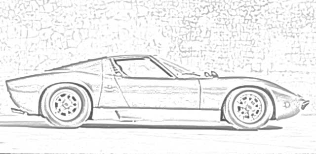 Coloring Pages: Classic Cars Coloring Pages Free and