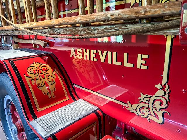 '22 American LaFrance fire truck