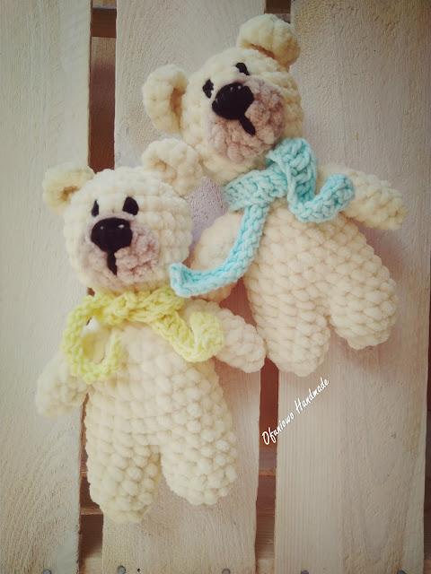 Crochet teddys - Ofuniowo Handmade