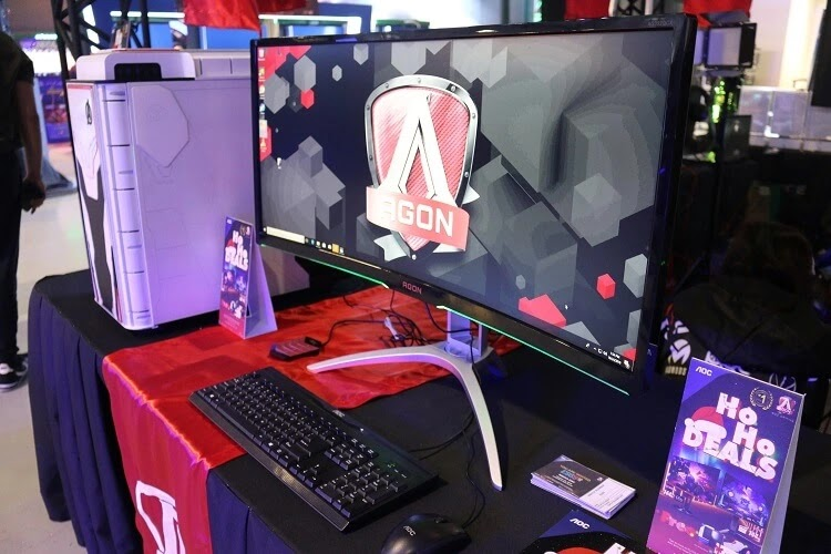 AOC Showcases Gaming Products, Holds Mini-Tournament at ESGS 2019