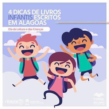 4 dicas de livros infantis escritos em Alagoas